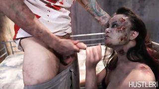 Зомби из «ходячих мертвецов» занялись трахом в покинутой клинике